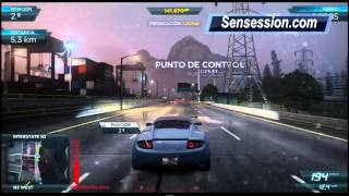 NFS01 Need for Speed Most Wanted Gameplay: Posición Most Wanted + persecución policial