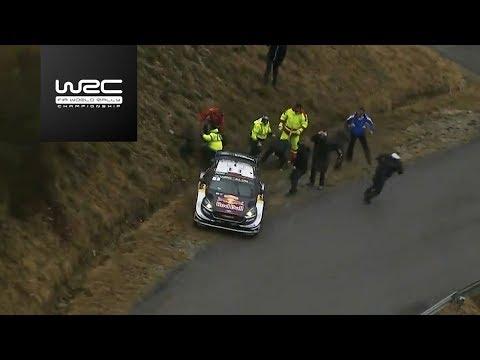 WRC - Rallye Monte-Carlo 2018: Ogier slipping into a ditch
