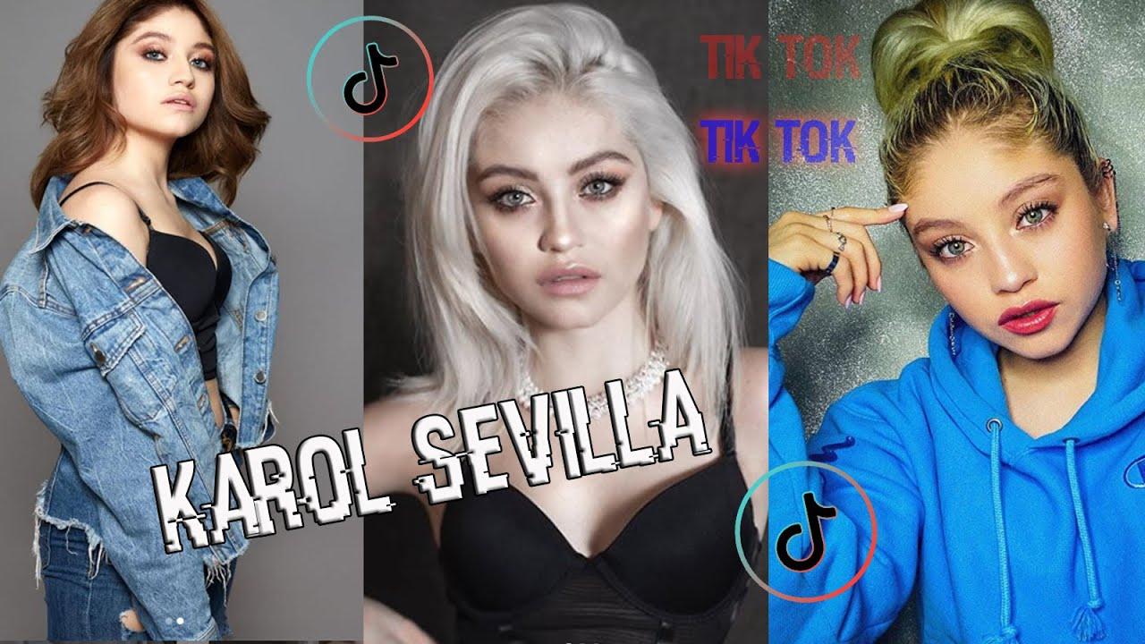 Tik Tok de Karol Sevilla parte 5   2020