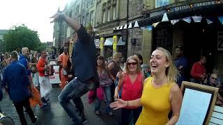 Govinda Prabhu Chants Hare Krishna with Harinama Ruci at Edinburgh Fringe Festival - Day 2 thumbnail