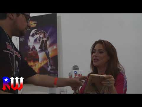 En Vivo Claudia Wells - Back to the future convention
