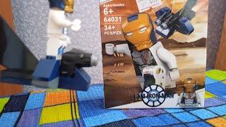 Обзор на Лего набор:Железный человек