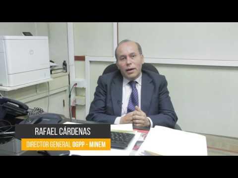Testimonio: Rafael Cárdenas MINEM