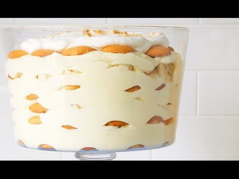 How to make banana cream pie with vanilla wafers