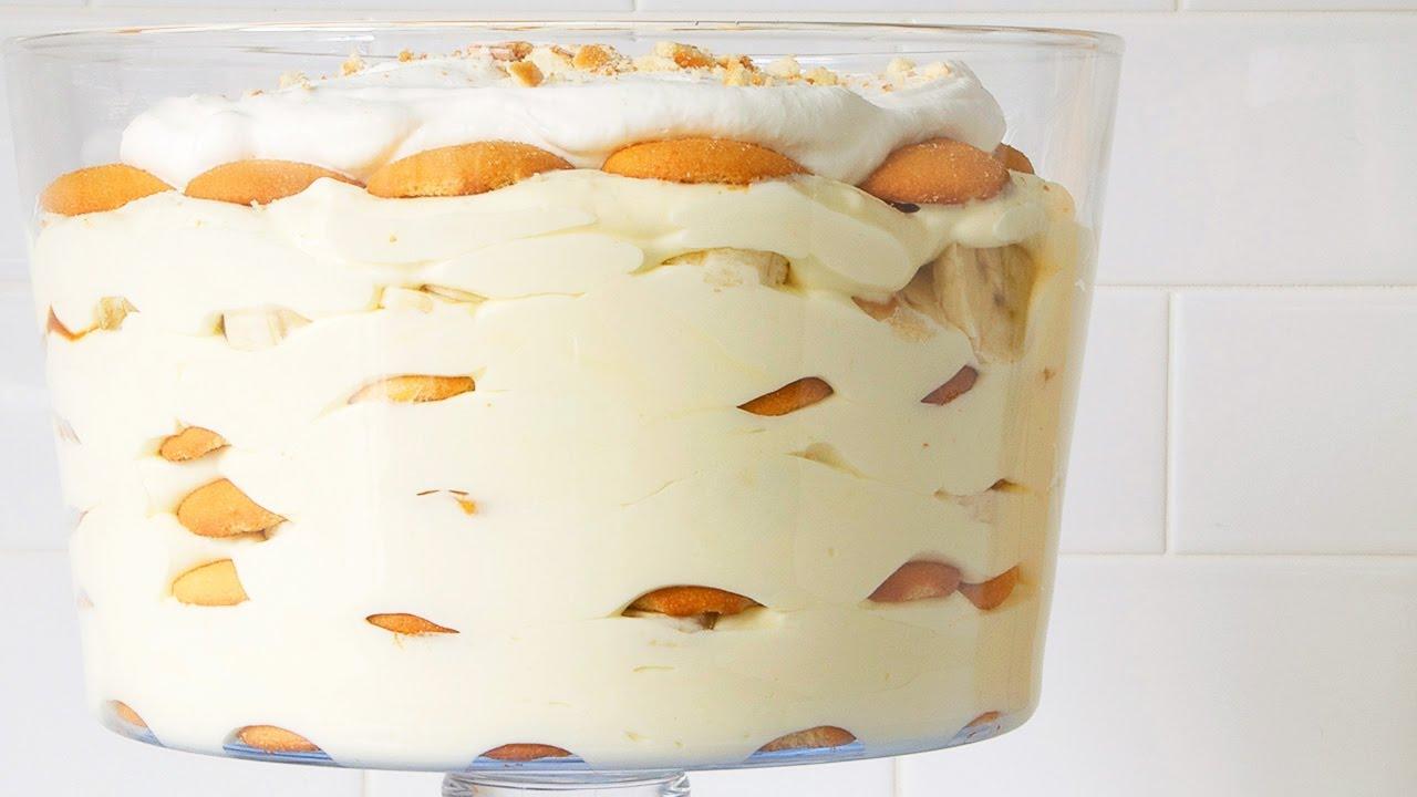 Banana With Vanilla Wafers And Pudding Recipe