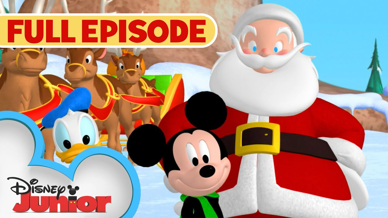 Mickey Saves Santa Full Episode Mickey Mouse Clubhouse Disney Junior Youtube