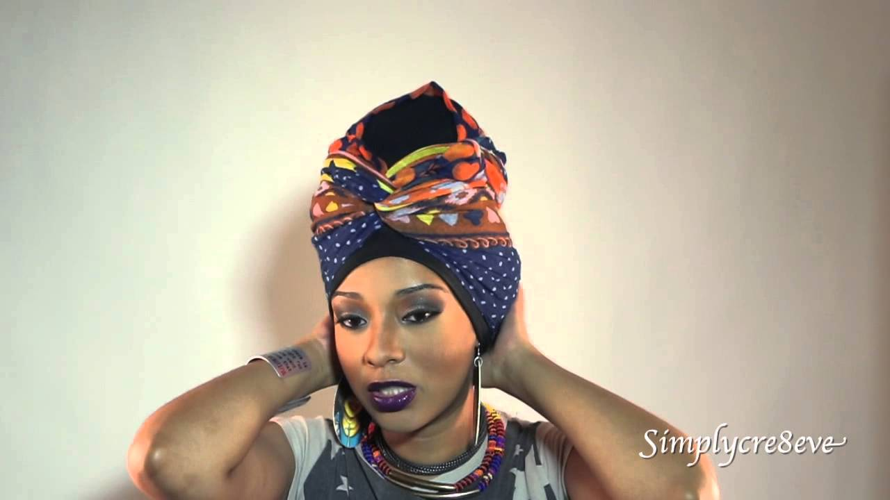 Natural Hairstyles Head Wrap Styles To Rock When You Have Braids