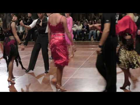 Adult Open Latin Semifinal 2017 Crown Dance Championship