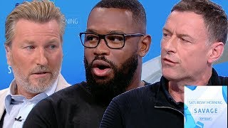 An important discussion on racism and abuse within sport after the Raheem Sterling incident