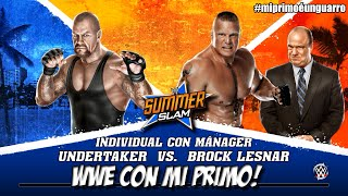 WWE | Undertaker vs Brock Lesnar - SummerSlam | WWE 2k15