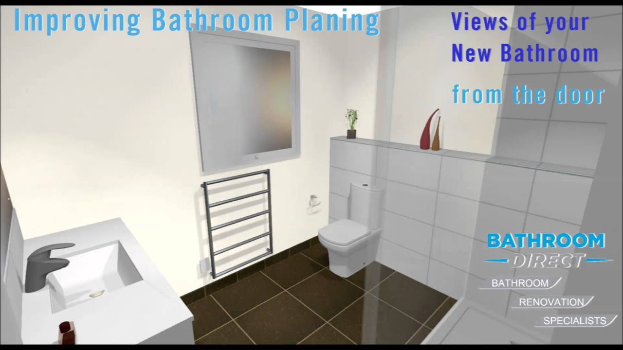 3D Bathroom Design - YouTube