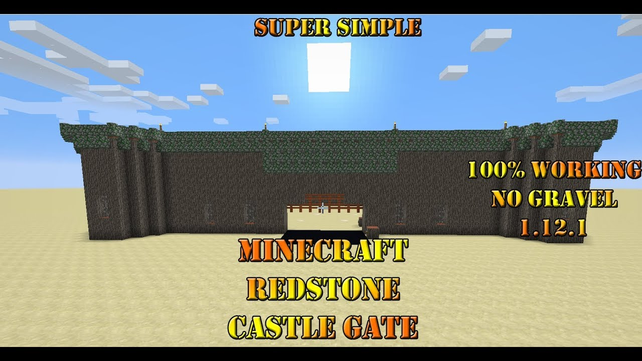 Minecraft Castle Gate Minecraft Castle Map Wallpapers