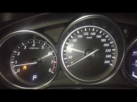 Mazda CX5 Dashboard Lights