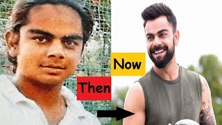Indian Cricketers- Then and Now (unbelievable transformation)