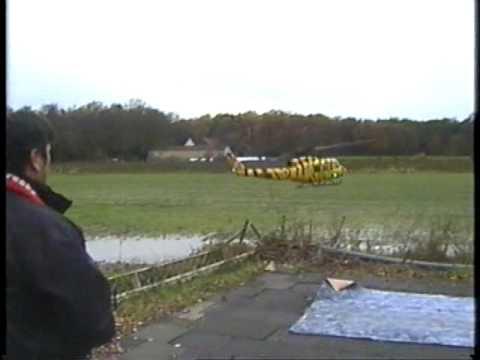 "Vario Bell UH1D "" Canadian Rescue  ""elektrisch mit Heli-Port Soundmodul Testflug"