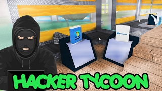 WE PRODUCE ILLEGAL SOFTWARE! | HACKER TYCOON | ROBLOX #48