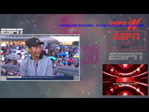FULL Naomi Osaka interview after defeating Serena Williams in 2018 Grand Slam final  ESPN
