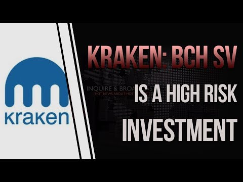 Kraken: Bitcoin Cash SV Doesn't Meet Listing Requirements