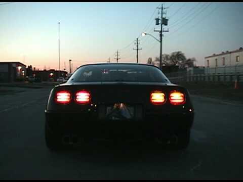 1992 C4 Corvette with full exhaust upgrade (sound clip)