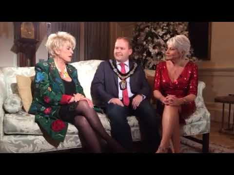 Lord Mayor meets Pamela Ballantine and Gloria Hunniford