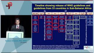 Reuben Granich - Adoption of New Guidelines - A work in progress