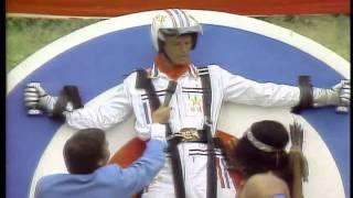 Super Dave Osborne archery stunt
