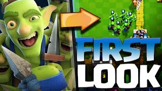 Clash Royale's New...ish Card Goblin Gang!?! How I Like it and A Crazy Match With Them!?!