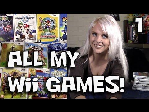 MY Wii GAMES PART 1 - Mario, Zelda & More!