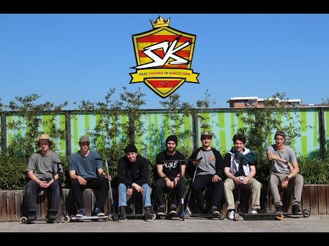 SK feat. friends in BARCELONA 2017