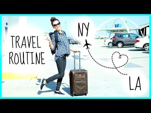 Make My Travel Routine + Flight Essentials! Pictures