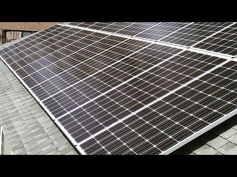 SOLAR PANELS - For my Off Grid Living Pt.1