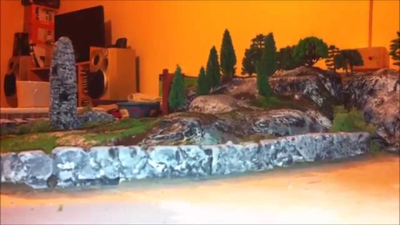 Papercraft Model railway update  Jan 2015