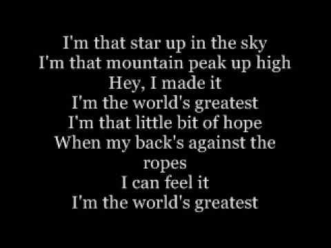Im the world greatest - R.Kelly Lyrics
