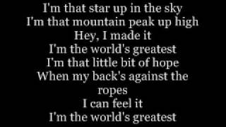 Im the world greatest - R.Kelly Lyrics