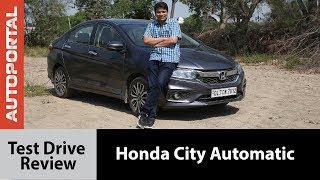 Honda City Automatic Test Drive Review - Autoportal