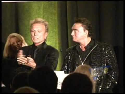 Siegfried and Roy are Honored at the German-American Hall of Fame