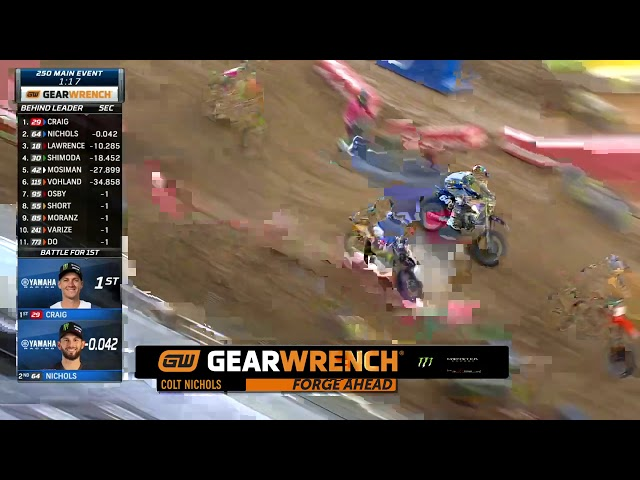 GEARWRENCH 250SX Top Performance - Round 3