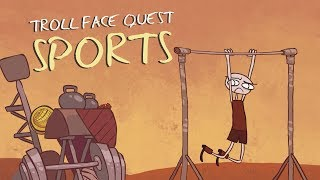 Troll Face Quest Sports - SPIL GAMES Level 1-15 Walkthrough
