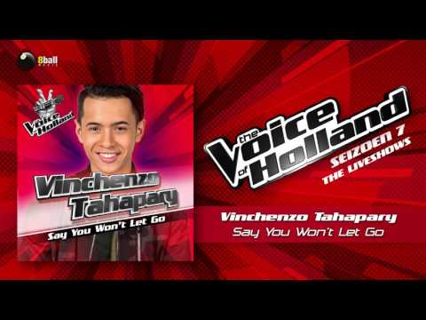Vinchenzo Tahapary – Say You Won't Let Go (The Voice of Holland 2016/2017 Liveshow 4 Audio)