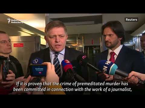 Slovakia In Crisis After Journalist Killing