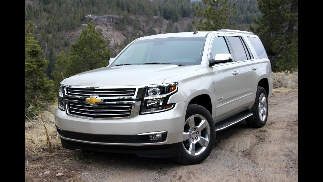 2016 Chevy Tahoe Dashboard Overview