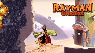 #43 Rayman Origins - Savage Swarms - Video Game - Gameplay - Game Movie For Kids - Lets Play