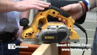 Dewalt D26500 Planer - Hands On With A Carpenter