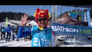 2020 Winter Triathlon World Championships highlights