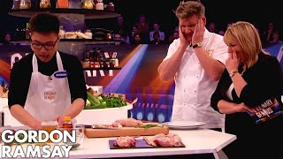 Nervous Chef Desperate to 'Amaze' Gordon Ramsay | Culinary Genius