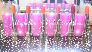 Maybelline Rebel Bloom | Swatches + Mini Review Thumbnail