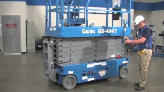 Product Walk-Around: Genie GS™-4047 Scissor Lift - ANSI