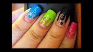 Как сделать красивые простые рисунки на ногтях(Хотите, чтобы ваши ноготки прекрасно выглядели? Не гонитесь за сложным маникюром. Попробуйте с самого прост..., 2014-08-15T17:25:56.000Z)