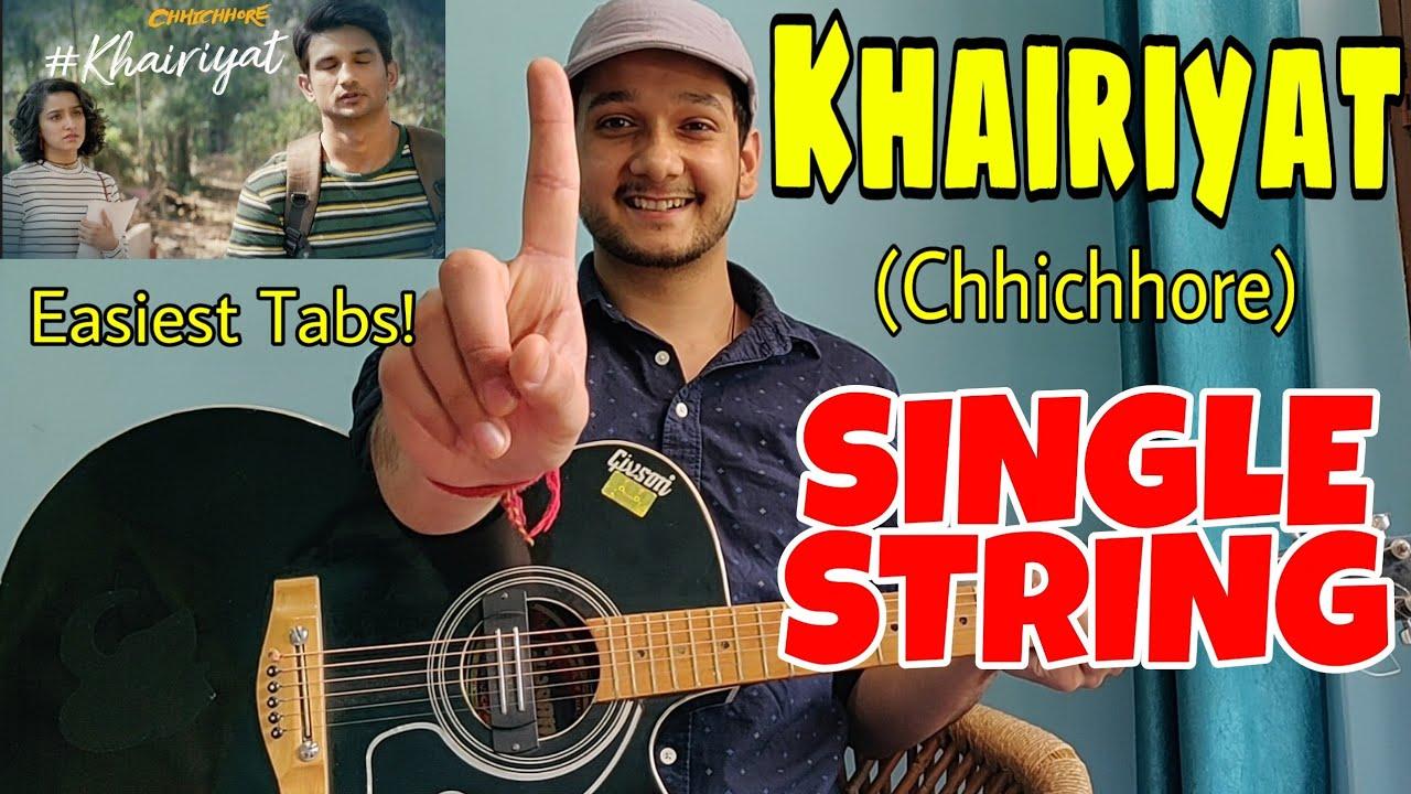 Khairiyat Pucho Arijit Singh Single String Guitar Tabs Lesson Easiest Guitar Lessons Youtube Best popular hit songs of indian hindi cinema. khairiyat pucho arijit singh single string guitar tabs lesson easiest guitar lessons