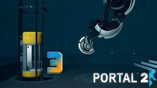 Portal 2 прохождение на геймпаде [60 fps] часть 3 С днём рождения Челл!